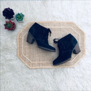 Clarks Carleta Lyon Suede Ankle Boots